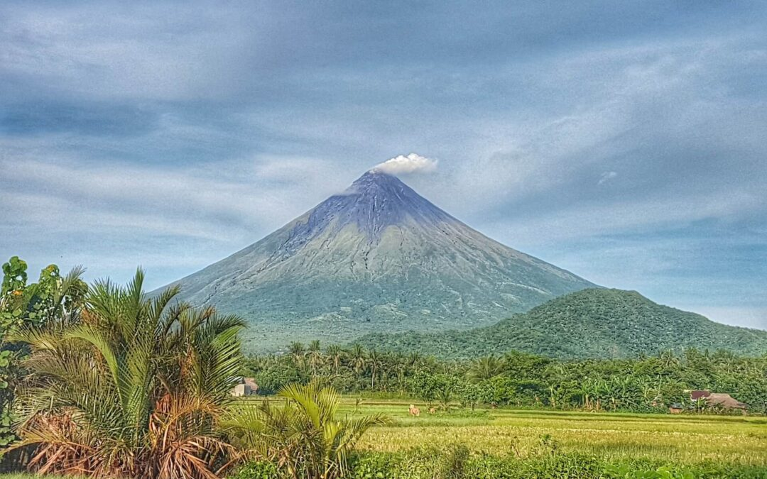 Philippines' most active volcano produces anti-cancer soil